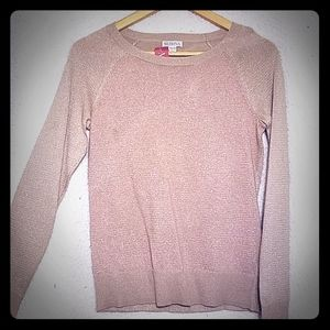 Womens shimmer sweater